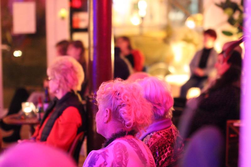 Publikum beim Konzert von gerda vejle