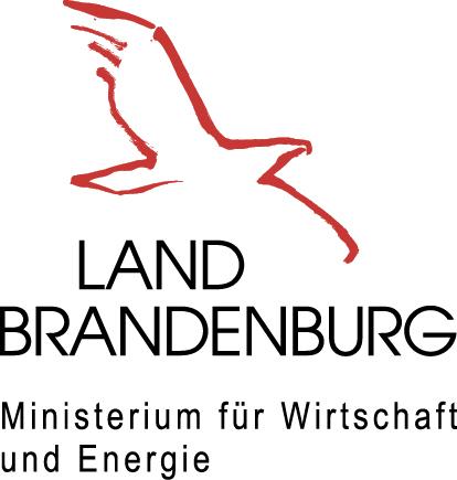 Logo: Ministerium für Wirtschaft und Energie - Land Brandenburg