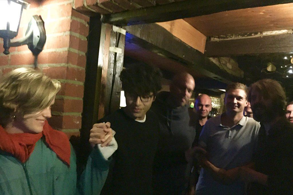 Karaoke im Holzwurm